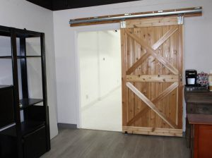 Our barn door