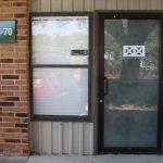 a-front door
